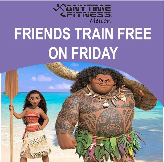 Friends train free on friday
