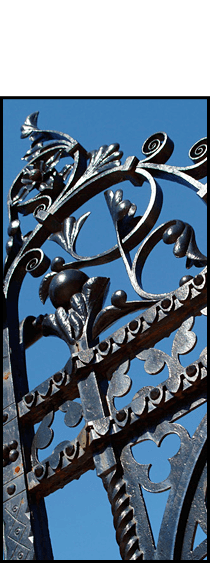 Metalwork - Penge, London - WC Evans & Sons Ltd - Steel Fence