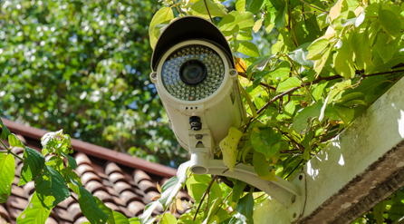 rooftop CCTV installation
