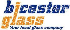 Bicester glass logo