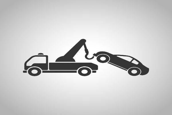 Icona su soccorso auto
