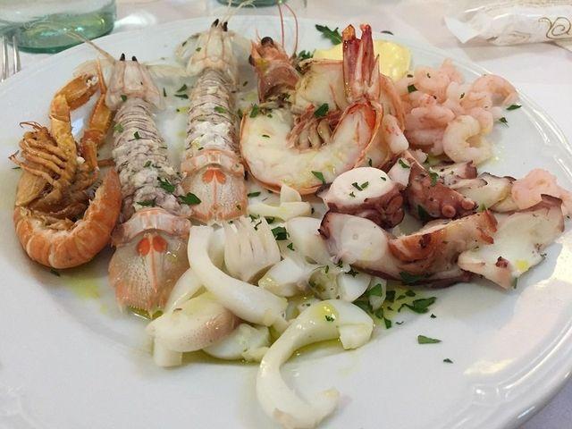 frittura di pesce fresco