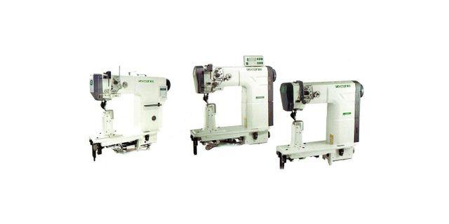 tre macchine da cucire bianche