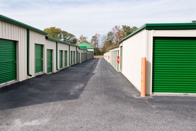 Out door storage units