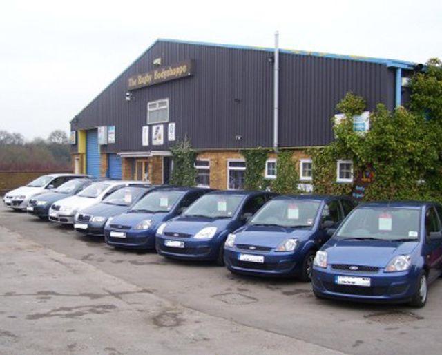 Rugby Bodyshoppe Ltd for car bodywork