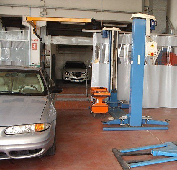 Riparazione auto alla Carrozzeria Alpicar in Moretta