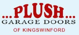 Plush Garage doors logo