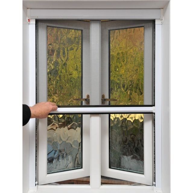 Retractable magnetic insect screens dunedin otago for Retractable bug screen door