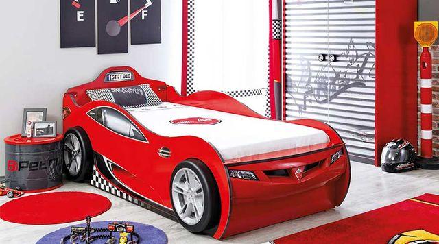 Letto A Forma Di Auto Da Corsa : Letti per bambini a forma di macchine e veicoli vari