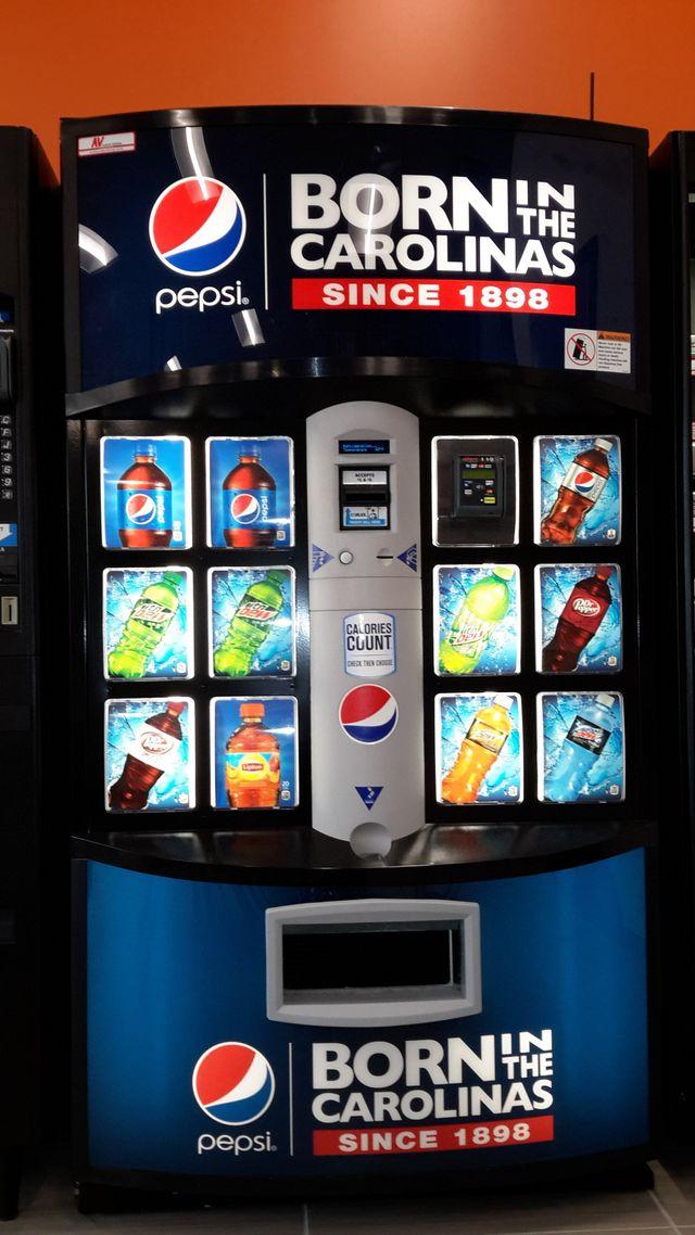 Vending Machines Winston - Salem, NC