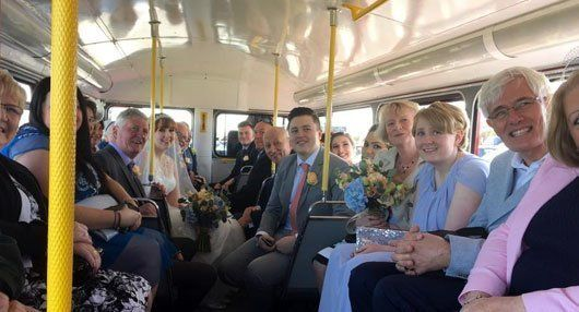 wedding coaches across Tyne and Wear