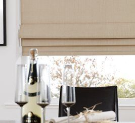 Roman blinds fitting