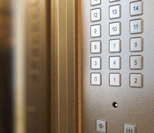 Lift interiors