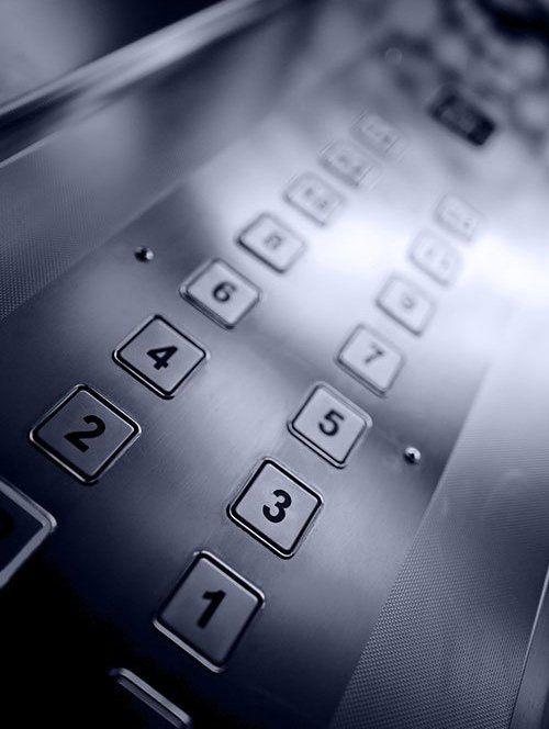 Lift floor buttons