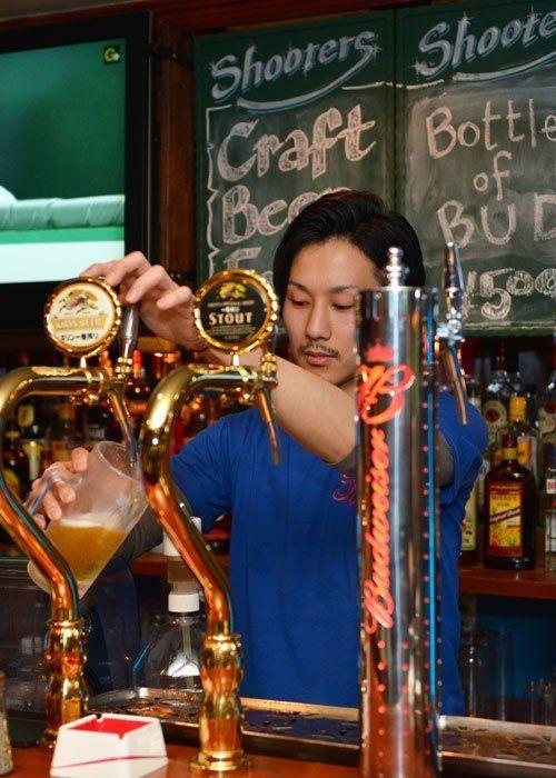 Bartender in Nagoya
