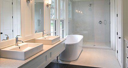 Kitchen and bathroom services falls church va john hall construction company for Bathroom remodeler falls church va