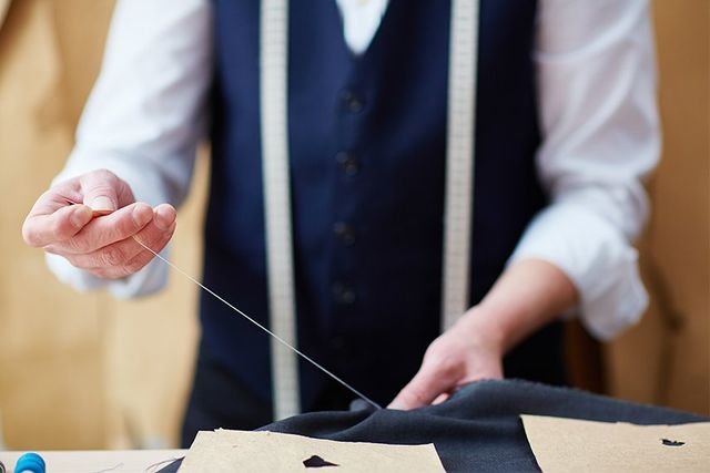 Tailor Sewing at Fielding & Nicholson