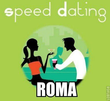 Speed Dating à Rome