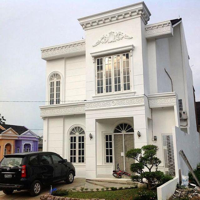 rumah townhouse perumahan caledonia residence palembang