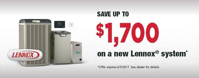 Lennox system spring rebate