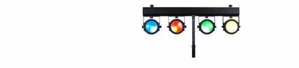 multi-coloured lighting