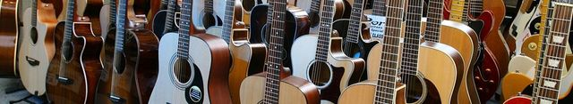 wooden guitars