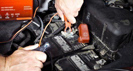 car battery for repair