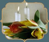 Addobbi funebri, allestimento camere ardenti, fiori per funerali