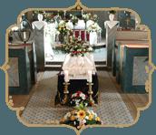Copribare, cerimonie funebri, allestimenti funebri