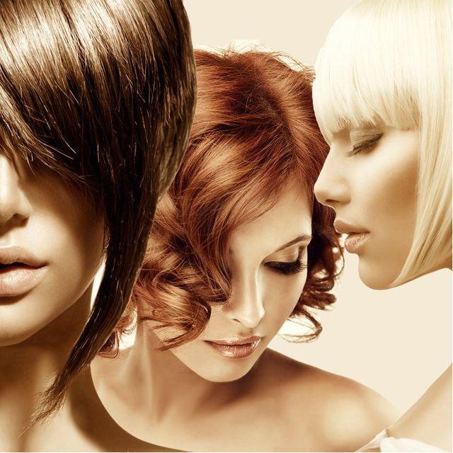 Haare färben - wir mischen Ihren Wunschton