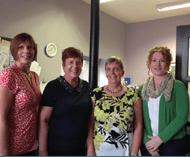 Gail, Joan, Valerie and Rhonda