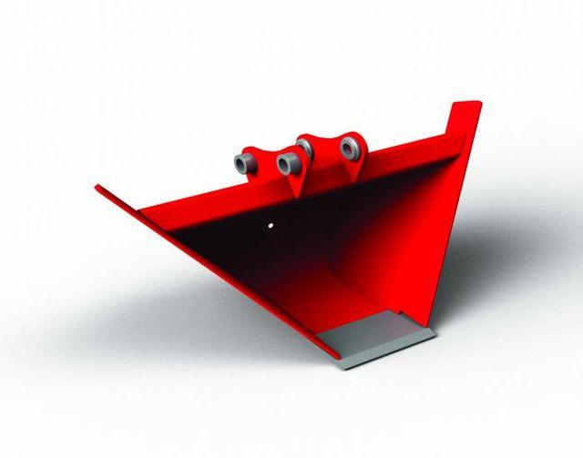 trapezoidal bucket