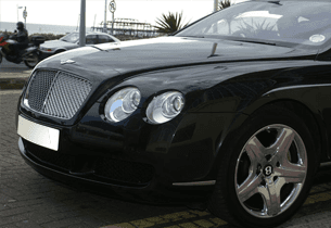 luxury vehicle for hire