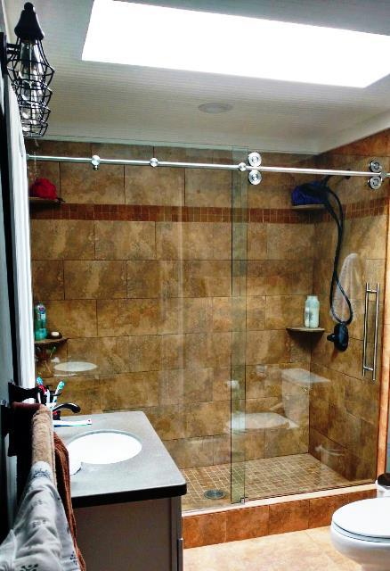 glass shower enclosures jacksonville fl glass shower enclosures bathroom baker glass jacksonville - Glass Enclosures