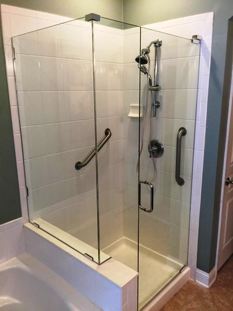 products glass use shower doors we il frameless palatine custom framed and