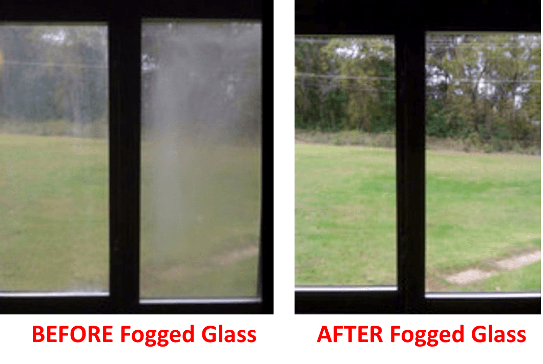 fogged glass replacement before and after baker glass inc jacksonville fl yulee fl fernandina beach fl