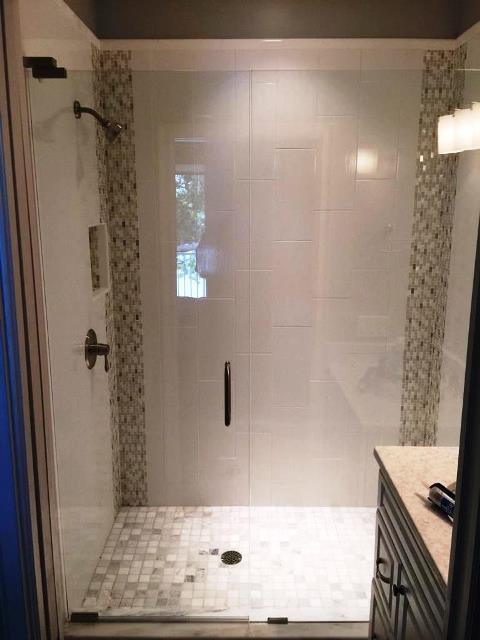 elegant frameless glass shower doors enclosures - Frameless Glass Shower Door