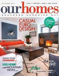 Our Homes magazine - ski season 2013