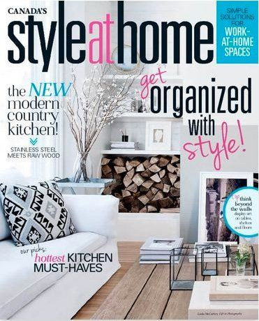Style At Home magazine - Sep. 2015