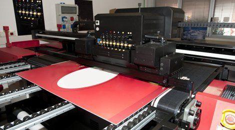 Exhibition printing work in Birmingham