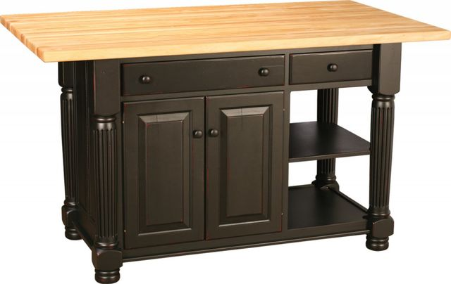Amish Wood Kitchen Islands Buffalo Lockport Ny Ohio Craft Furniture