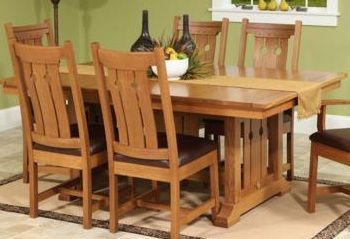 True Mission Style Dining Or Kitchen Tables Are Solid Wood Simple Stylish Strong And Built To Last For Generations