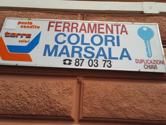 Marsala ferramenta Genova