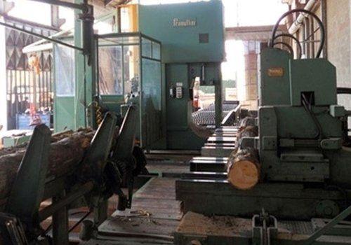 impianti per segatura del legno