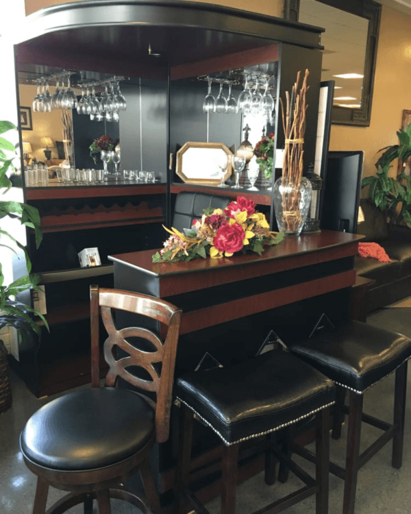 Home Bar Area, Custom Made Furniture In Concord CA