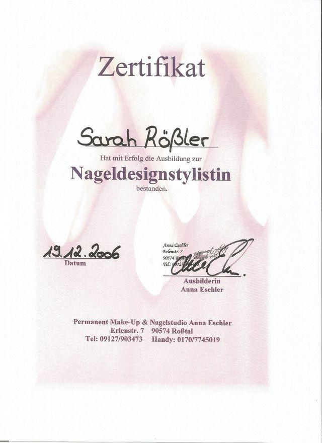 Kosmetik Nagelstudio Sarah Rössler Himmelkron