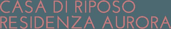 CASA DI RIPOSO RESIDENZA AURORA - LOGO