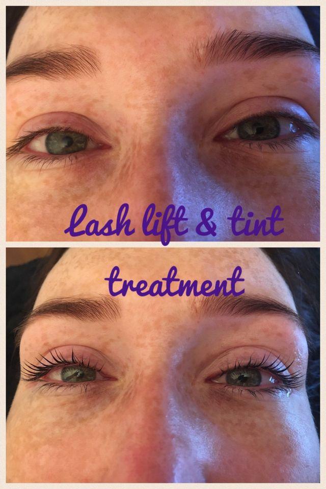 Eyelash and Brow tinting