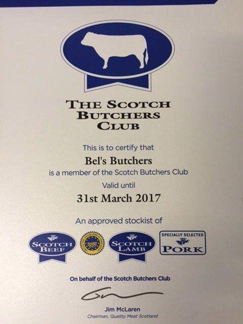 Scotch Butchers Club Membership