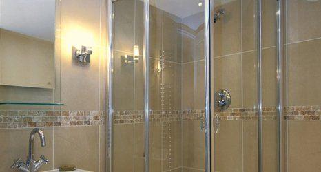 Full powered showers